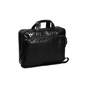 Chesterfield-laptoptas-zwart-manuel